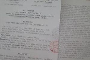 TAND huyện Khánh Sơn cần sớm đưa vụ án ra xét xử!