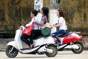 Hiểu đúng về việc cấm xe máy đi quá 40km/h