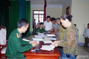 Nghệ An: Gần 190 nghìn dân công hỏa tuyến được hưởng chế độ trợ cấp một lần