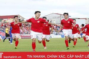 Hồng Lĩnh Hà Tĩnh quyết vô địch Giải U21 Báo Thanh Niên 2019