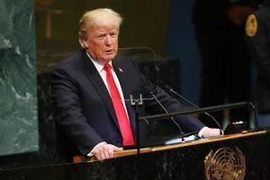 Tại diễn đàn LHQ, Tổng thống Mỹ yêu cầu Trung Quốc hành xử có trách nhiệm ở Hồng Kông