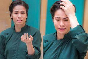 'Tiếng sét trong mưa': Fan xót lòng khi thấy Nhật Kim Anh ôm đầu chảy máu, không dám khóc thành tiếng với ai