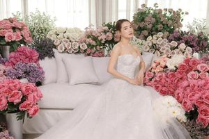 Sau một năm kết hôn, Nhã Phương lại diện váy cưới khiến fan nháo nhác