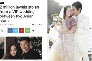 Một nữ model mất nhiều bộ trang sức trị giá 2 triệu euro trong tiệc cưới Quách Bích Đình - Hướng Tả