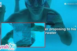Lập kế hoạch cầu hôn bạn gái khi lặn dưới nước, người đàn ông chết đuối bí ẩn ngay sau khi ngỏ lời