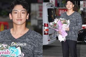 'Ông bố bỉm sữa' 2 con Bi Rain lần đầu xuất hiện sau khi bà xã Kim Tae sinh công chúa