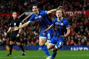 Chật vật hạ CLB hạng 3, MU đụng Chelsea ở vòng 4 League Cup