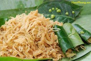 Nem Phùng - món ăn dân dã của làng quê
