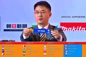 Tuyển U23 Việt Nam rơi vào bảng đấu vừa sức