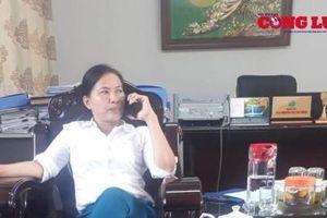 Vụ 'xẻ thịt' đất rừng Sóc Sơn: Đề nghị cảnh cáo bà Nguyễn Thị Thu Hằng - Giám đốc Ban Quản lý rừng