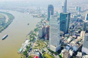 Cầu đi bộ qua sông Sài Gòn sẽ có băng chuyền, thang máy