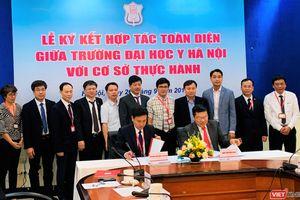 Trường Đại học Y Hà Nội tiếp tục ký kết hợp tác toàn diện với 15 bệnh viện, giúp các bác sĩ trẻ được thực hành nhiều hơn