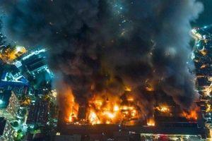 Cháy nhà máy tại Rạng Đông: Số tiền bảo hiểm là 450 tỷ đồng
