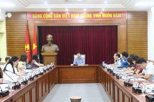 Chuẩn bị công tác tuyên truyền cho Năm ASEAN 2020