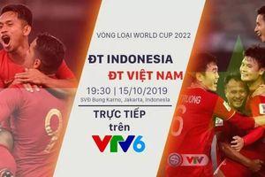 Khán giả Việt Nam được xem miễn phí trận Indonesia - Việt Nam
