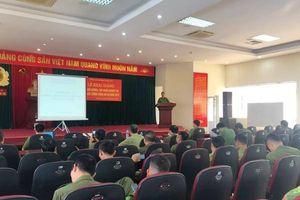 Tập huấn nghiệp phòng cháy, chữa cháy và cứu nạn, cứu hộ cho lực lượng công an xã