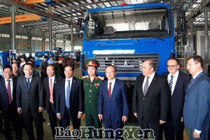 Khánh thành Nhà máy sản xuất-lắp ráp ô tô Maz Asia
