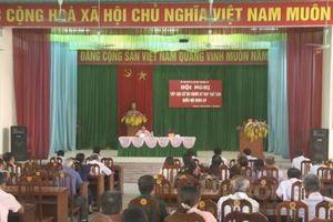 Phú Thọ: Lấy ý kiến cử tri về công tác xây dựng Luật và phát triển kinh tế - xã hội