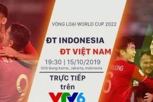 Khán giả Việt Nam được xem miễn phí trận Indonesia – Việt Nam
