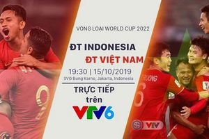 VTV đã sở hữu bản quyền phát sóng trận Indonesia – Việt Nam
