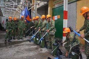 Vụ cháy Công ty Rạng Đông: Bộ đội hóa học đã tẩy sạch 2.000m2