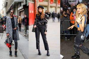 10 trend thời trang quần jeans làm mưa làm gió trên đường phố New York