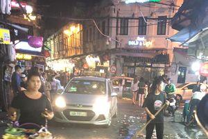 Tạ Hiện - 'phố Tây' của Hà Nội bị rác thải làm mất mỹ quan
