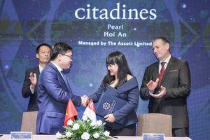The Ascott Limited sẽ quản lý, vận hành dự án nghỉ dưỡng Citadines Pearl Hoi An
