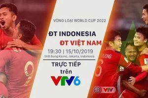 CHÍNH THỨC: VTV sở hữu bản quyền trận ĐT Indonesia - ĐT Việt Nam