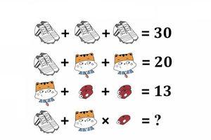 Bài toán cộng số của học sinh tiểu học gây tranh cãi suốt 2 năm, 99% người trả lời sai