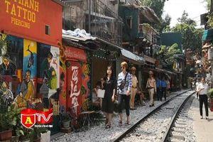 Xử lý các quán cà phê vi phạm hành lang đường sắt ở Hà Nội