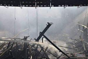 Thiệt hại ban đầu trong vụ hỏa hoạn tại Cung Văn hóa Lao động hữu nghị Việt- Xô