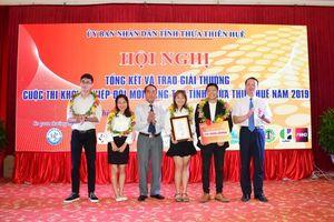 Thừa Thiên - Huế trao giải thưởng cuộc thi 'Khởi nghiệp đổi mới sáng tạo'