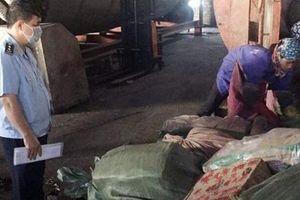 1,6 tấn thực phẩm nhập lậu bị bắt giữ ở Quảng Ninh