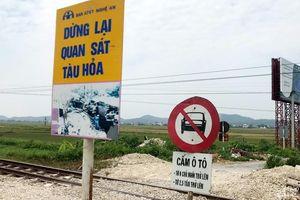 'Điểm đen' tai nạn đường sắt ở Nghệ An gây ám ảnh cho người dân