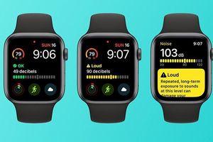 Cách thiết lập ứng dụng Noise trên Apple Watch để đo độ ồn
