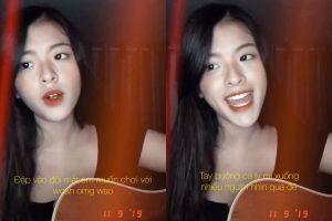 Cover nhạc Indie, con gái NSƯT Chiều Xuân được khen xinh tựa thiên thần nhưng không ai nghe ra nàng hát tiếng nước nào
