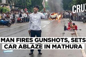 Cặp đôi Ấn Độ phóng hỏa ô tô, bắn chỉ thiên tuyên bố kết hôn