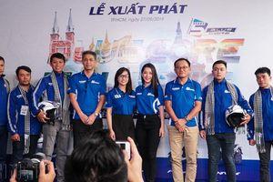 'Phượt thủ' Việt cưỡi xe ga Yamaha xuyên Đông Nam Á