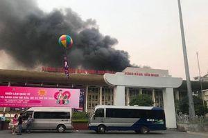 Cháy lớn tại Cung Văn hóa hữu nghị Việt Xô
