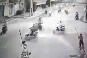 Bắt đối tượng trực tiếp chém xe dân phòng ở Đồng Nai