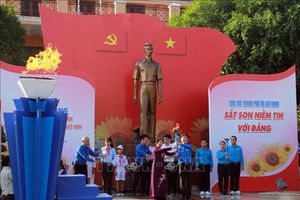Tuổi trẻ Thành phố Hồ Chí Minh sắt son niềm tin với Đảng