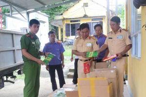 Thừa Thiên Huế: Khởi tố tài xế vận chuyển gần 30 nghìn gói thuốc lá nhập lậu