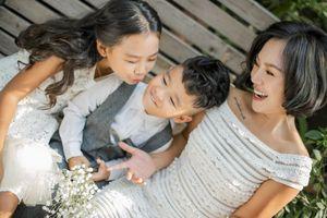 Thái Thùy Linh: 'Tôi chỉ đi bước nữa nếu các con hạnh phúc hơn!'
