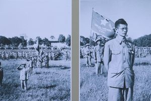 Tái hiện nghi thức Lễ chào cờ Ngày Giải phóng Thủ đô