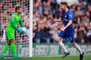 Jorginho tỏa sáng, Chelsea kiếm trọn 3 điểm trên sân nhà
