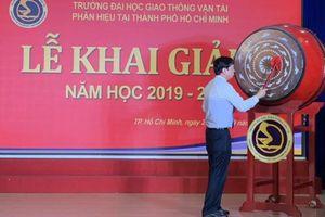 Trường ĐH GTVT Phân hiệu tại TP.HCM khai giảng năm học mới