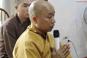 Trụ trì chùa Nga Hoàng đã xuất hiện, lên tiếng sau khi bị tố gạ tình phóng viên rồi nói 'thầy xin tí khí'