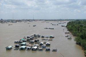 Cảnh báo lũ ở đầu nguồn Sông Cửu Long