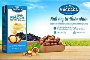 Macca Nutrition Việt Nam: Chính thức ra mắt sản phẩm sữa hạt Macca Milk